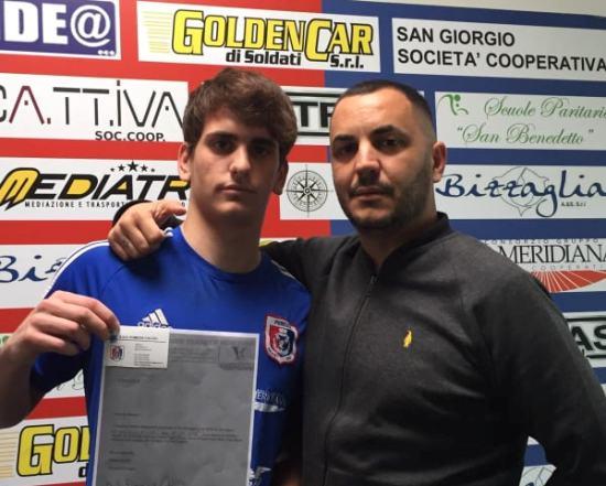 Viareggio Cup, gran colpo del ds Mezzina: Pinna in prestito ai newyorkesi dello United Youth Soccer Stars