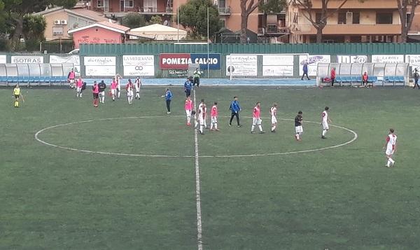 Pomezia-Bastia finisce 1-1: Apre Cestrone nel primo tempo, risponde Felici nella ripresa
