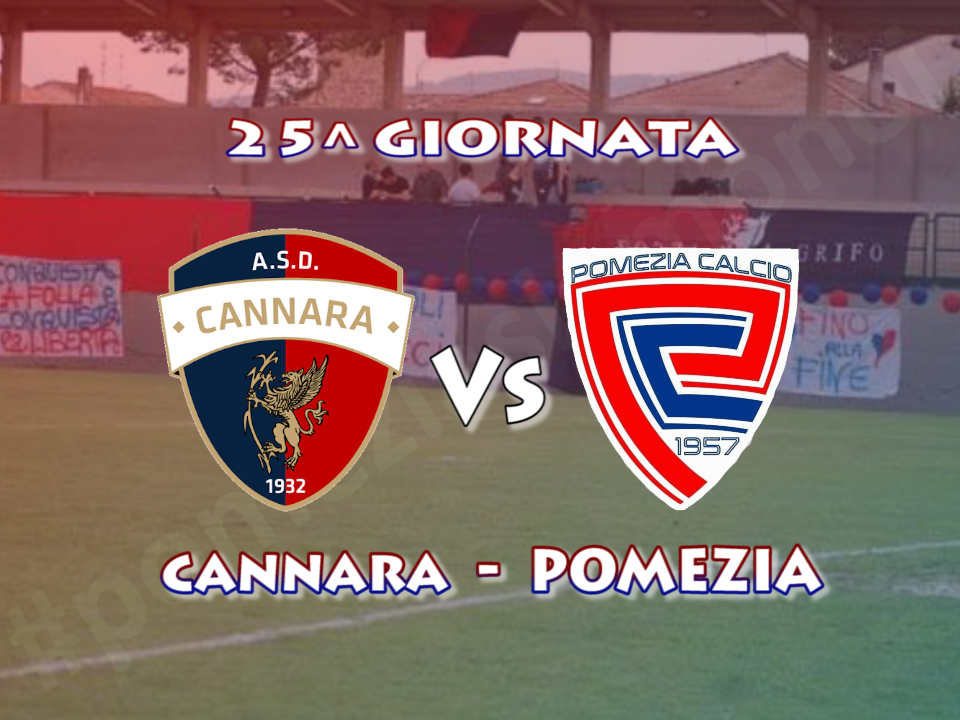 25^giornata, Pomezia in trasferta in Umbria per affrontare il Cannara sestultimo in classifica