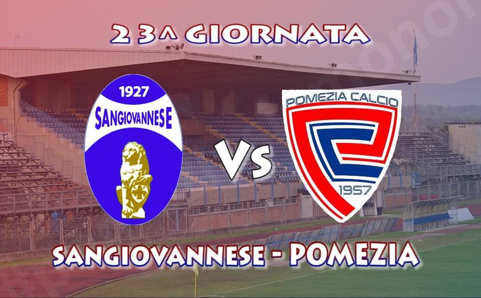 23^giornata, il Pomezia fa visita alla Sangiovannese con l'obiettivo di tornare a fare punti