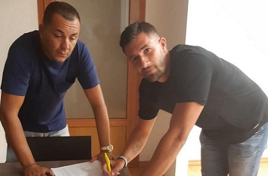 L'attaccante Flavio Prioteasa è un nuovo giocatore del Pomezia Calcio