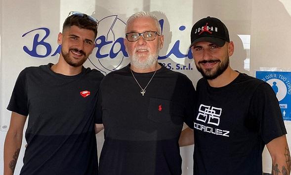 Ufficiali gli acquisti dei fratelli Demofonti: l'attaccante Simone e il centrocampista Marco