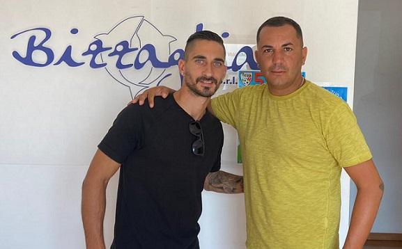 Stefano Aquilani è un nuovo giocatore rossoblù