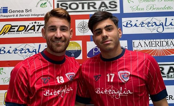 Matteo Tortora torna a vestire rossoblù. Marvin Mezzina promosso in prima squadra