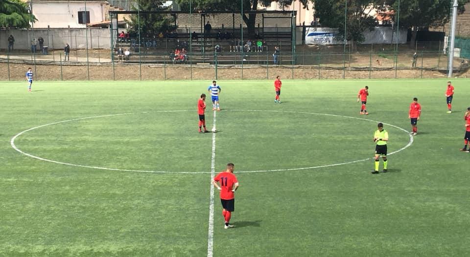 Terza sconfitta consecutiva per gli uomini di mister Gagliarducci, l'Ottavia vince 2-0 (il video)