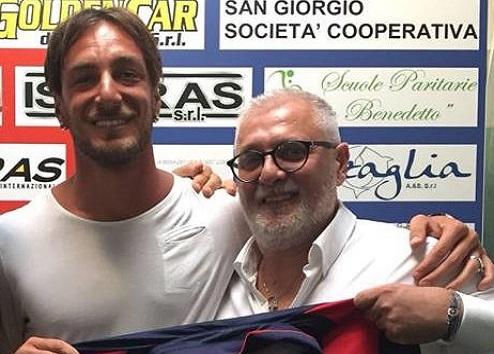 Altra conferma importante: L'attaccante classe 1989 Cristiano Bussi vestirà ancora il rossoblù del Pomezia
