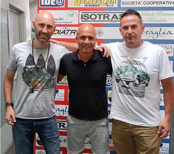 Emanuele Penna è il nuovo tecnico dell' Under 14 rossoblù. Sarà coadiuvato da mister Dario Cavallaro